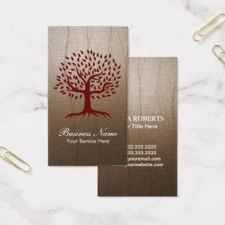 Cartão De Visitas Psicologia do bem-estar da ioga do logotipo da