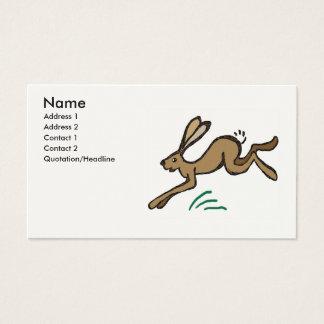Cartão De Visitas Pulo da lebre