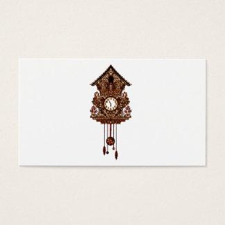 Cartão De Visitas Pulso de disparo de cuco 2