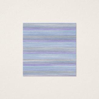 Cartão De Visitas Quadrado design do estilo das cores pastel do livro da
