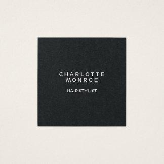 Cartão De Visitas Quadrado Forma quadrada profissional minimalista moderna