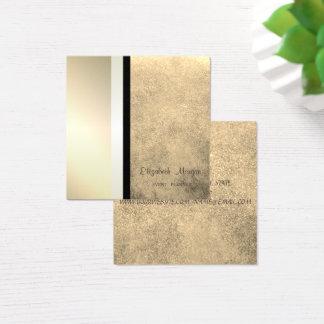 Cartão De Visitas Quadrado Geométrico profissional à moda moderno, listrado