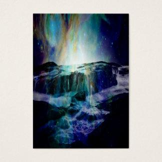 Cartão De Visitas Quedas cósmicas