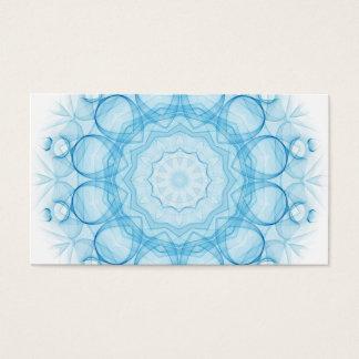 Cartão De Visitas Queens azul