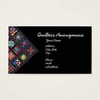 Cartão De Visitas Quilters anónimo