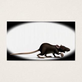 Cartão De Visitas Rato do praga