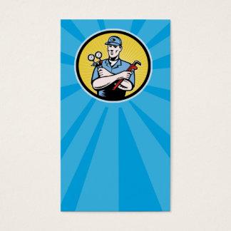 Cartão De Visitas recruta do reparador que guardara o wre múltiplo