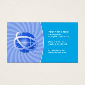 Cartão De Visitas Rede azul