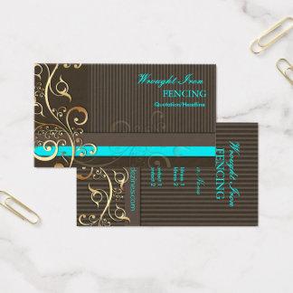 Cartão De Visitas Redemoinhos do Ornamental de