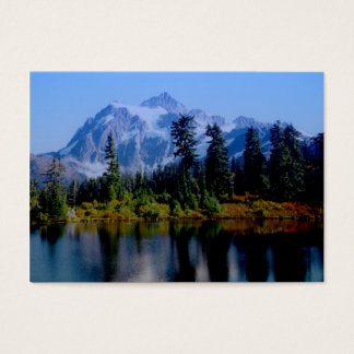 Cartão De Visitas Reflexões de Shuksan