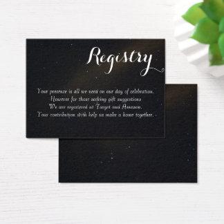 Cartão De Visitas Registro celestial dos sonhos
