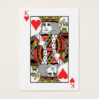 Cartão De Visitas Rei dos corações