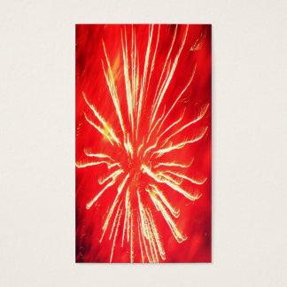 Cartão De Visitas relâmpago vermelho