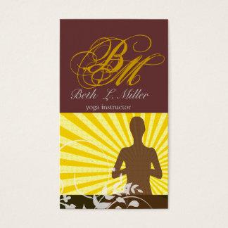 Cartão De Visitas Religioso profissional Monogrammed