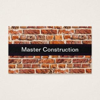 Cartão De Visitas Remodelação da construção