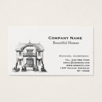 Cartão De Visitas Remodelação do mediador imobiliário e da casa
