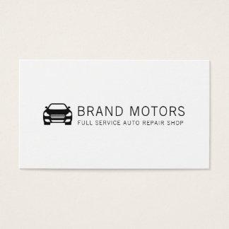 Cartão De Visitas Reparação de automóveis automotriz profissional
