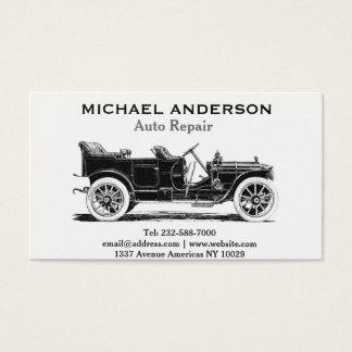 Cartão De Visitas Reparação de automóveis e concessionário automóvel
