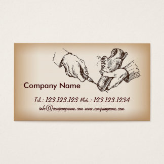 Cartão De Visitas Reparador do sapateiro do gerente da loja de