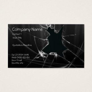 Cartão De Visitas Reparo de vidro