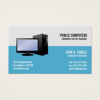 Cartão De Visitas Reparo do computador ELE administradores de rede