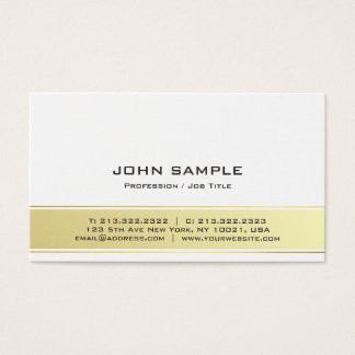 Cartão De Visitas Resíduo metálico elegante moderno profissional do