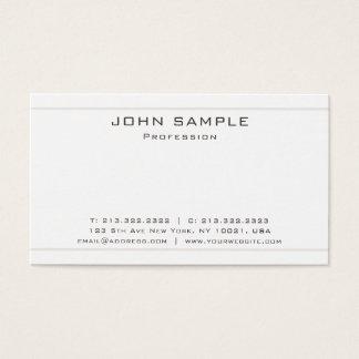 Cartão De Visitas Resíduo metálico elegante profissional na moda