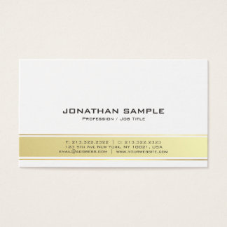Cartão De Visitas Resíduo metálico profissional elegante moderno do