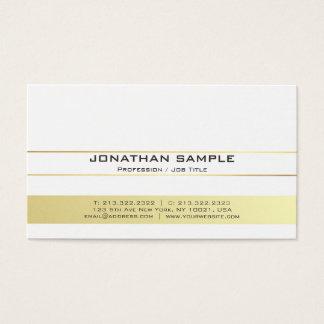 Cartão De Visitas Resíduo metálico profissional moderno elegante do