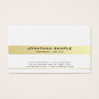 Cartão De Visitas Resíduo metálico profissional moderno na moda do