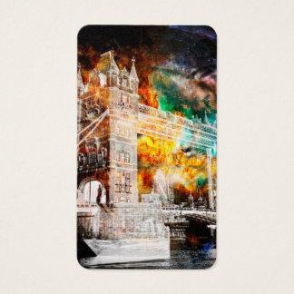 Cartão De Visitas Respire outra vez sonhos de Londres