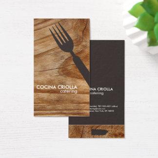 Cartão De Visitas Restaurante porto-riquenho ou restauração