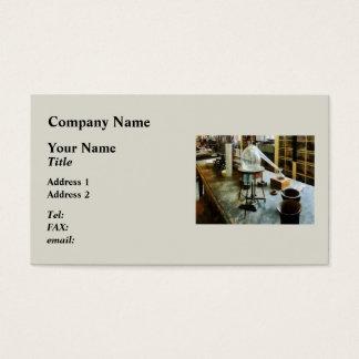 Cartão De Visitas Retorta no laboratório de Chem