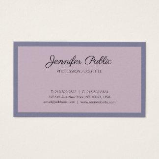 Cartão De Visitas Revestimento luxuoso na moda da pérola do design