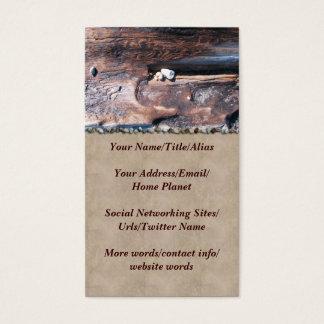 Cartão De Visitas Rochas no registro