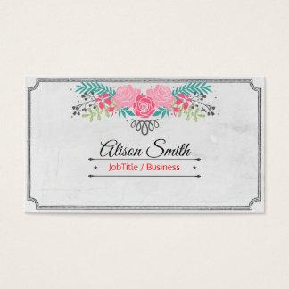 Cartão De Visitas Romântico genérico