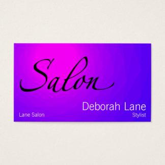 Cartão De Visitas Salão de beleza