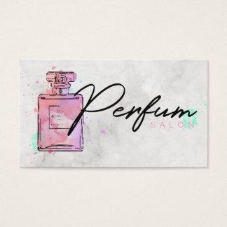 Cartão De Visitas Salão de beleza do perfume