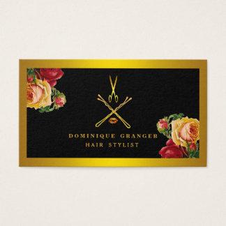 Cartão De Visitas Salão de beleza moderno do maquilhador & do