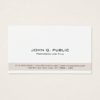 Cartão De Visitas Salão de beleza moderno profissional elegante de