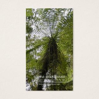 Cartão De Visitas Samambaia de árvore