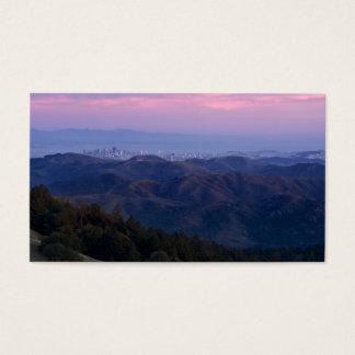 Cartão De Visitas San Francisco da montagem Tam