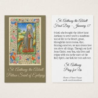 Cartão De Visitas Santo Anthony o consumidor de Abbott da epilepsia