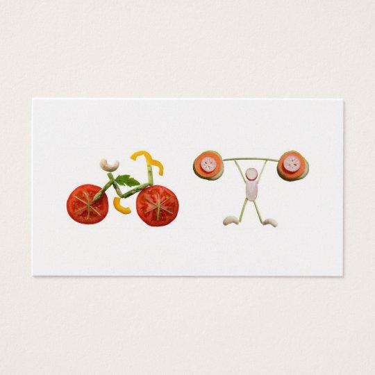 Cartão De Visitas Saúde e nutrição