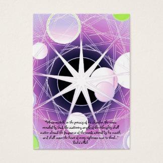 Cartão De Visitas ScatteringAngels9