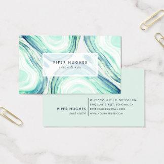 Cartão De Visitas Seaglass Geode