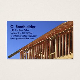 Cartão De Visitas Seção da moldação