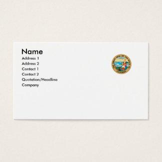 Cartão De Visitas Selo do estado de Califórnia