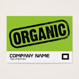 Cartão De Visitas Selo orgânico