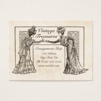 Cartão De Visitas Senhoras do Victorian